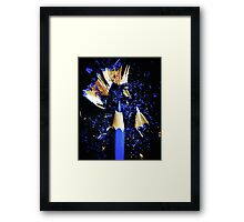 Right to the Point Framed Print