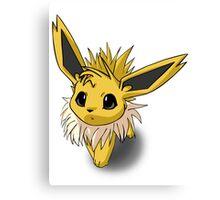 Cutesy Jolteon Pokemon Canvas Print