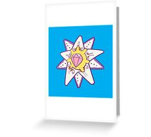 Starmie Popmuerto | Pokemon & Day of The Dead Mashup Greeting Card