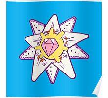 Starmie Popmuerto | Pokemon & Day of The Dead Mashup Poster