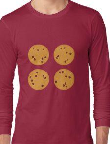 Yummy Chocolate Cookies Long Sleeve T-Shirt