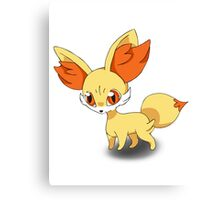 Fennekin Pokemon Canvas Print