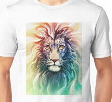 lion rainbow phone case Unisex T-Shirt