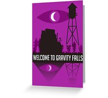 Welcome to Gravity Falls Greeting Card