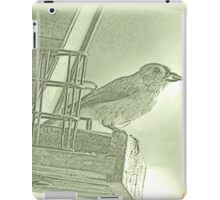 Titmouse Sumi-e iPad Case/Skin