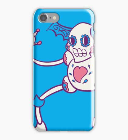 Mr. Mime Popmuerto | Pokemon & Day of The Dead Mashup iPhone Case/Skin
