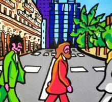 Beatles in Sardinia New With White Border Sticker