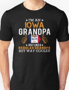 I'm an Iowa Grandpa Unisex T-Shirt