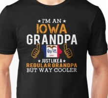 I'm an Iowa Grandpa Unisex T-Shirt