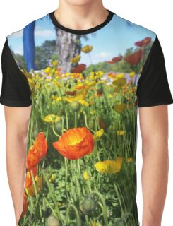 Floral photography orange tulips Toowoomba flower fest Graphic T-Shirt