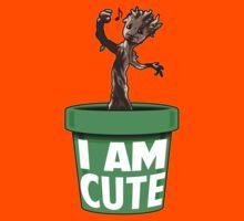 I Am Cute Kids Tee