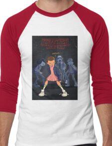 STRANGER THINGS Gifts and Merchandise Men's Baseball ¾ T-Shirt