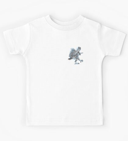 An awkward bird Kids Tee