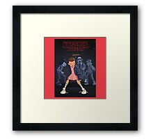 STRANGER THINGS Gifts and Merchandise Framed Print