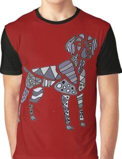 Weimaraner Dog Art Graphic T-Shirt