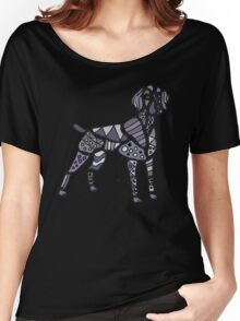 Weimaraner Dog Art Women's Relaxed Fit T-Shirt