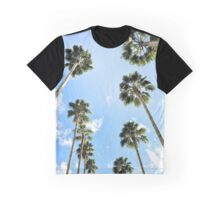 California palm trees in color Graphic T-Shirt