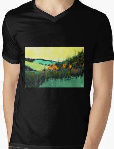 In Between Mens V-Neck T-Shirt