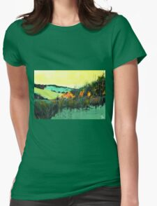 In Between Womens Fitted T-Shirt