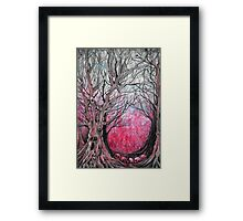 blood trees  Framed Print