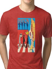 The Beatles Collage Tri-blend T-Shirt