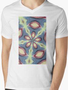 Kaleidoscope Mens V-Neck T-Shirt