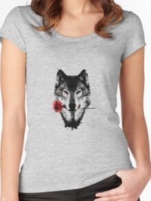 wolf and rosse Women's Fitted Scoop T-Shirt