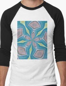 Kaleidoscope Men's Baseball ¾ T-Shirt