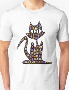cat Filled With Emoji For Cat Emoji Lovers Unisex T-Shirt