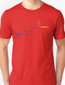 Pup-P-Play Red Unisex T-Shirt