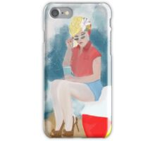 Beach Ball Baby by Lollypop Arts iPhone Case/Skin