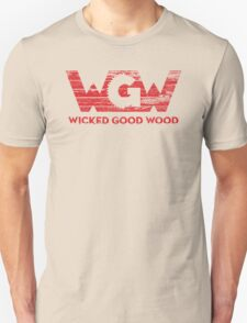 Wicked Good Wood, LLC Red Unisex T-Shirt