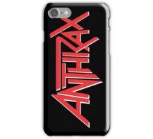 Anthrax Classic Logo iPhone Case/Skin