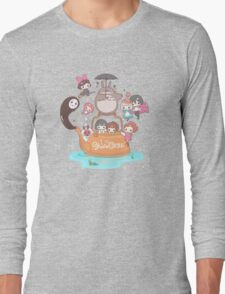 love it ghibli studio Long Sleeve T-Shirt