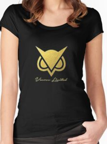 Vanoss logo Women's Fitted Scoop T-Shirt