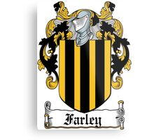 Farley Coat of Arms (Irish) Metal Print