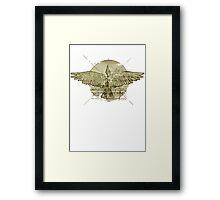 The Vitruvian Bird Framed Print