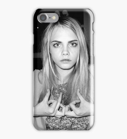 """Cara Delevingne """"Blood"""" iPhone Case/Skin"""