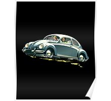 Classic Car keeps the Lead (V.2) Poster