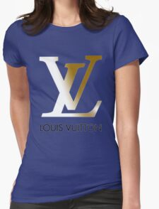 LOUIS VUITTON Womens Fitted T-Shirt