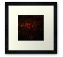 Bloodflower Framed Print