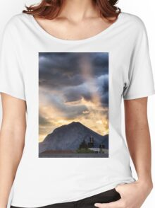 Sunset in the Mountains Women's Relaxed Fit T-Shirt