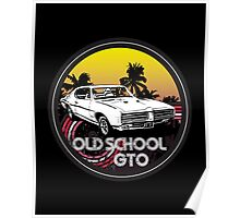 Classic Old School Cars1 Poster