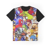 Clash of Super Heroes Graphic T-Shirt
