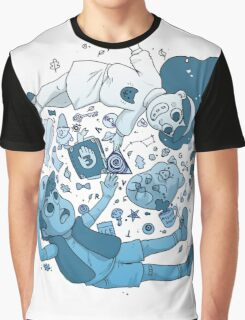 Mystery Kids (Blue) Graphic T-Shirt