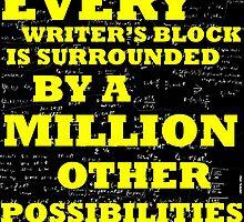 SOLVING WRITER'S BLOCK by BerylDov