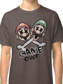 Mario and Luigi Game Over Classic T-Shirt