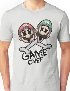Mario and Luigi Game Over Unisex T-Shirt