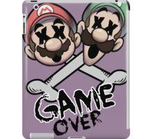Mario and Luigi Game Over iPad Case/Skin