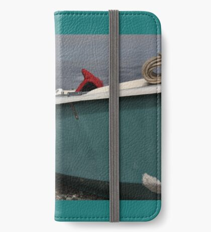 Boat on the shore iPhone Wallet/Case/Skin